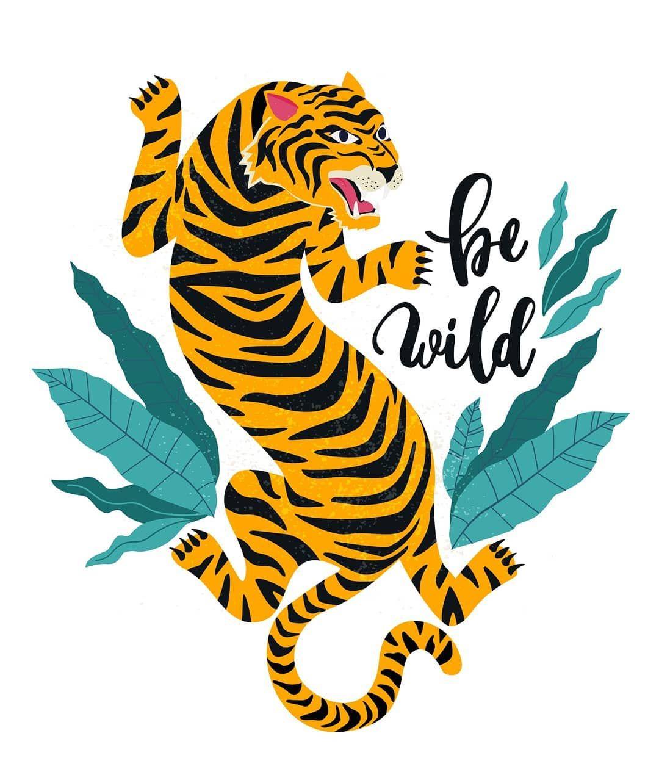 "cheaper eab2e 0175e Angelina Bambina on Instagram: ""Indian tiger pattern ..."
