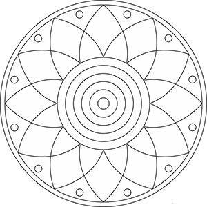 mandala ausmalbilder - blumen | ausmalbilder, ausmalbilder