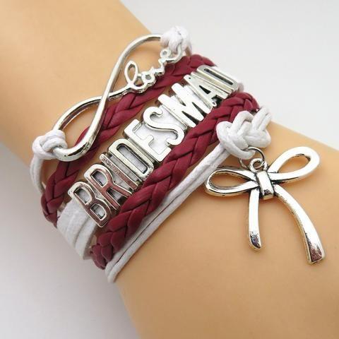 Bracelet - Infinity Love Wedding Bracelets Gift - 50% Off Sale