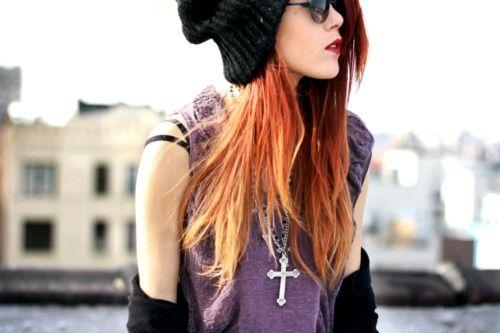 #grunge #girl #style #fashion