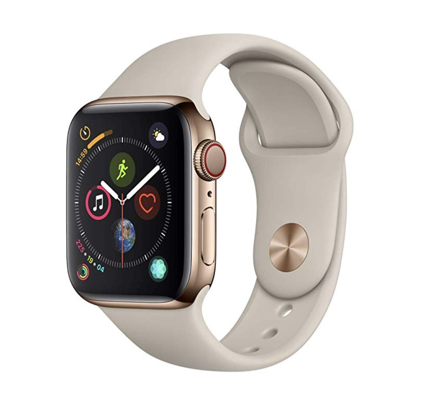 Love the color tones in this Apple Watch Series 4. Apple