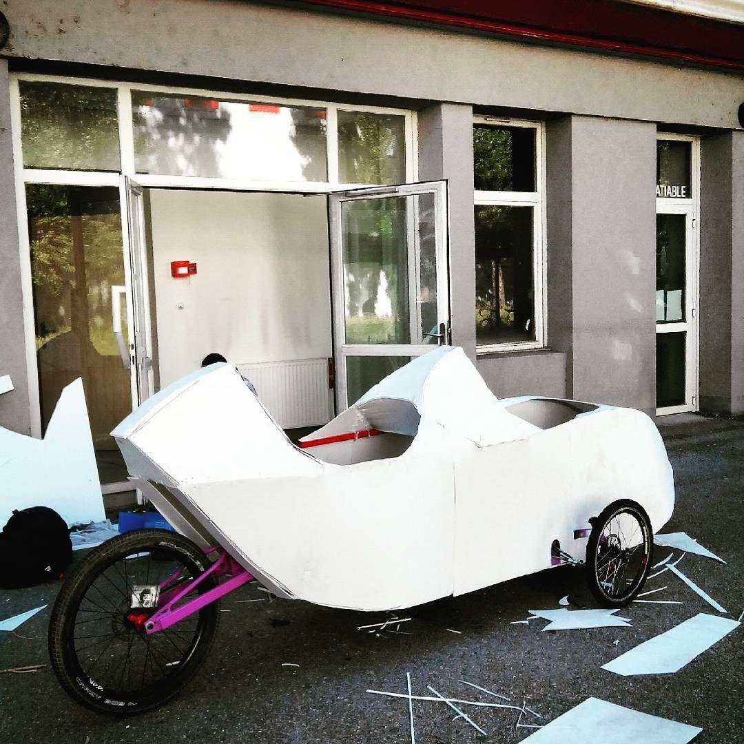 See this Instagram photo by @lmx_freeride • DIY tandom velomobile ...