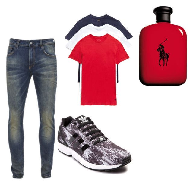 """back 2 school"" by mvnibabyy on Polyvore featuring Scotch & Soda, adidas, Polo Ralph Lauren, Ralph Lauren, men's fashion and menswear"