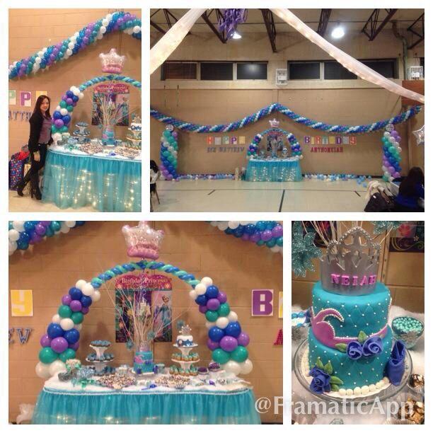 Disneys 1st birthday frozen themediy Frozen theme birthday