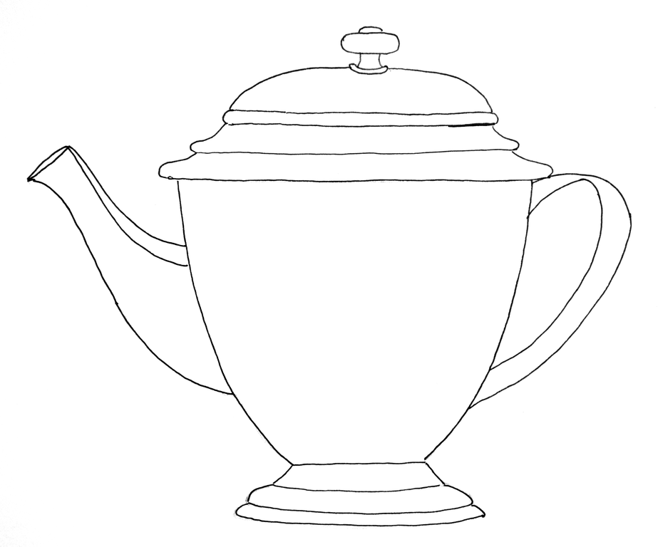 dropbox teapot printable patterns templates tutorials 2 pinterest template. Black Bedroom Furniture Sets. Home Design Ideas