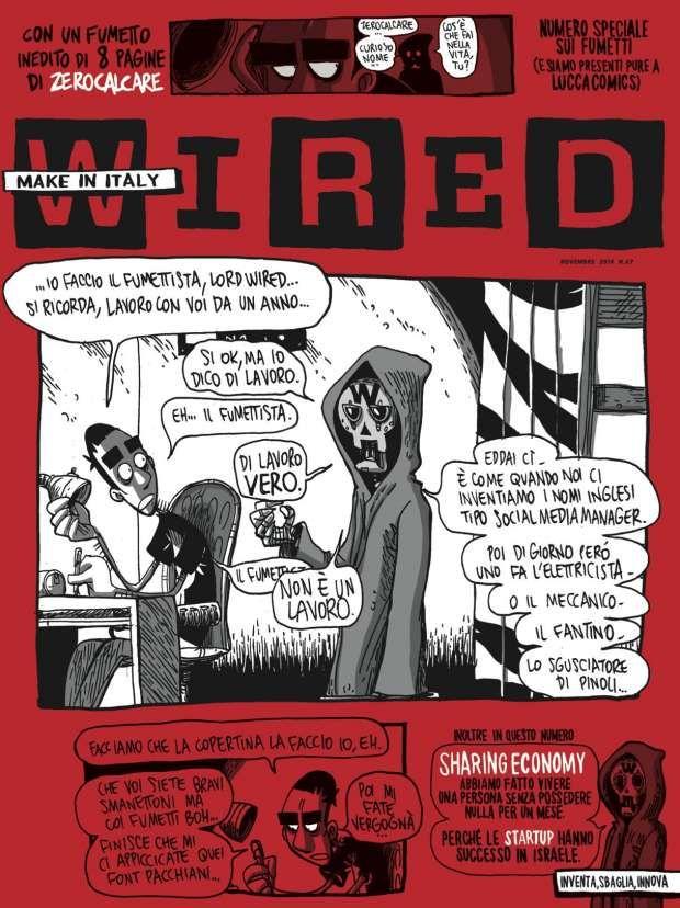 Wired, un numero dedicato ai fumetti per Lucca Comics & Games 2014 ...
