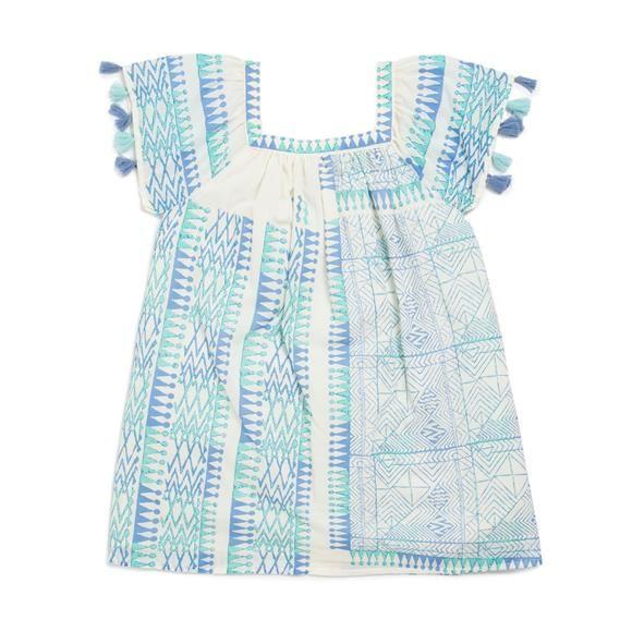 Monoprix - Robe imprimée - Antik Batik pour Monoprix - MONOPRIX KIDS