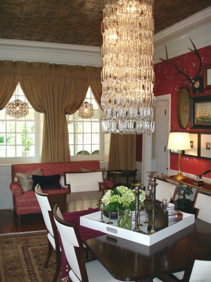 2012 Harrisburg Symphony Showhouse  Gardens Dining Room by Davids