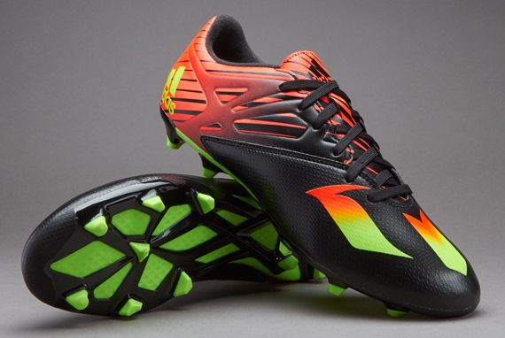 separation shoes f8b2f 4a35d adidas MESSI 15.3 FG - Core Black Solar Green Solar Red
