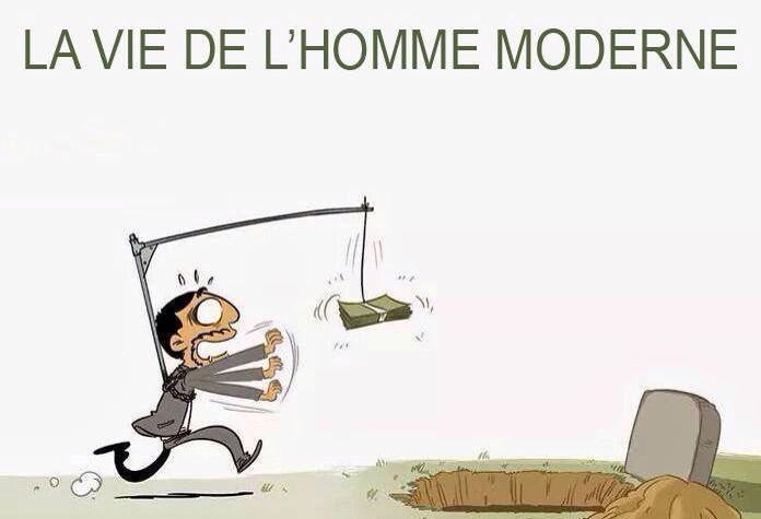 La vie de l'homme moderne #chomage #entreprise #foncia #iphone #RT #android #ipad #emploi #followback #actu #immobilier #realestate