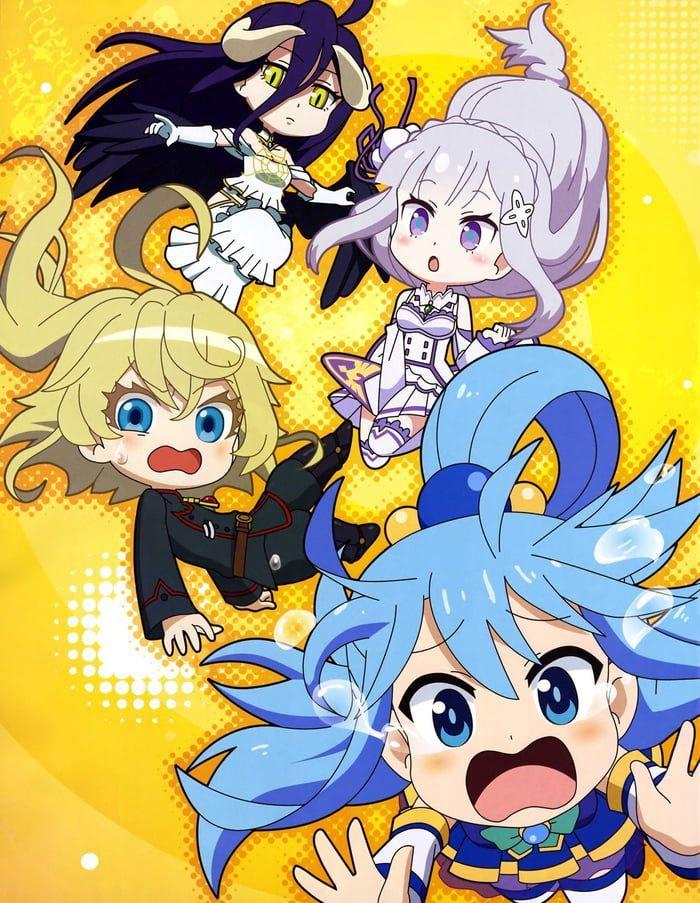 Isekai Girls (I really like Isekai Quartets ending) in