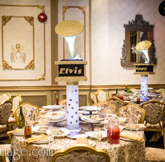 Rock N Roll And Grammy Awards Bar Mitzvah Centerpiece Event