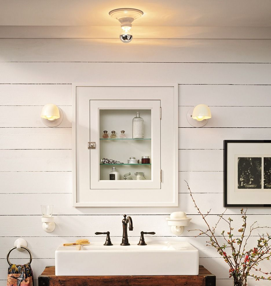 Hannah Bare Bulb | Restroom design, Bathroom colors ...