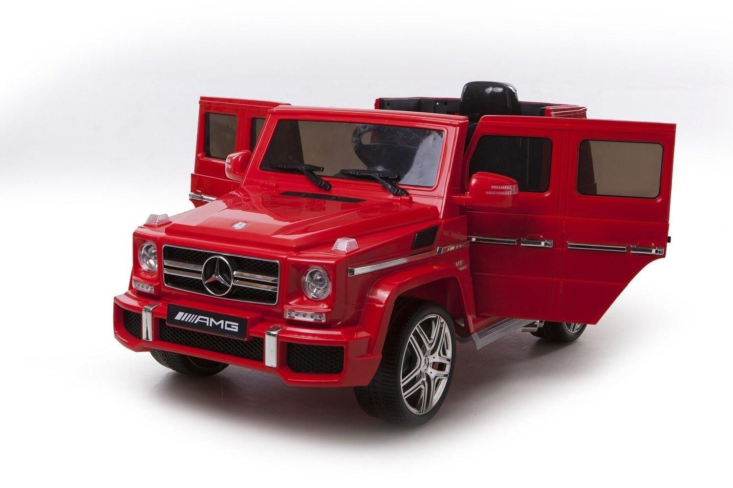 Mercedes v Electric Ride On Jeep G AMG SUV  Red Just