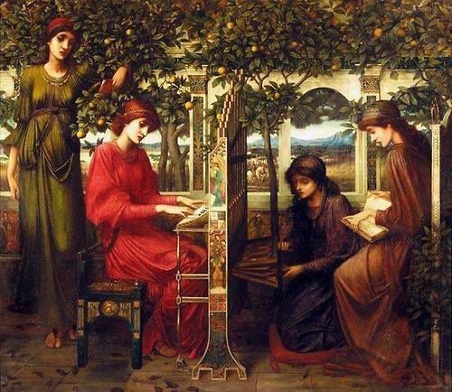 John Melhuish Strudwick (1849 – 1937)  – Pintor Inglês_2