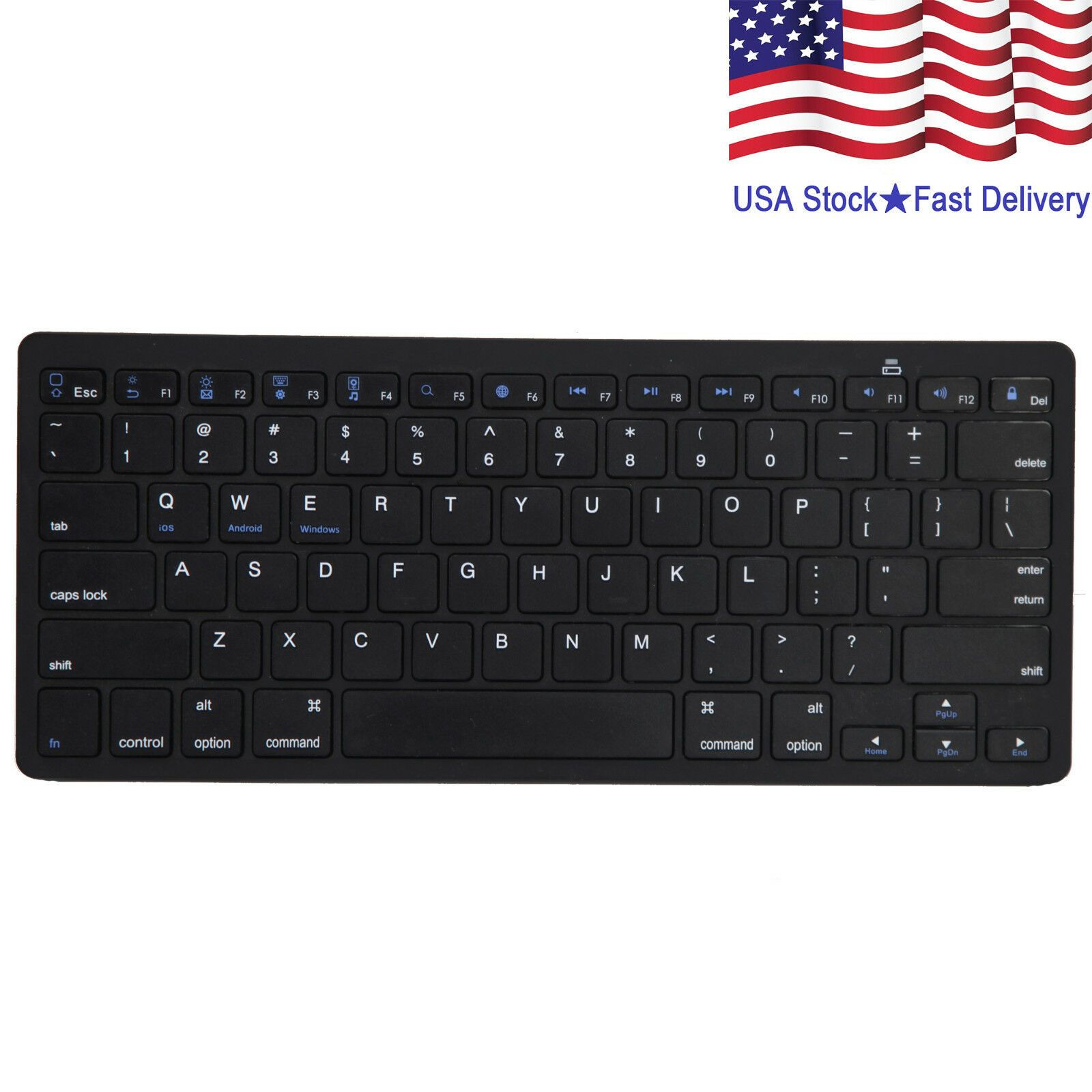 Details about Wireless Bluetooth Keyboard Slim For Android
