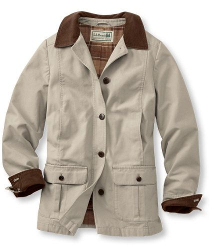 Adirondack Barn Coat, Flannel-Lined: Casual Jackets | Free ...