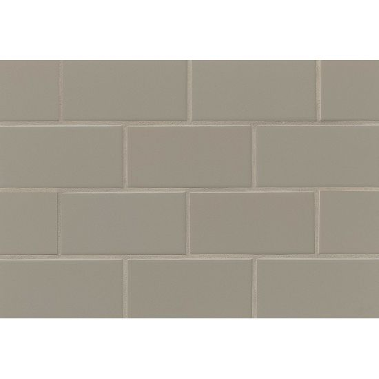 Traditions 3 Quot X 6 Quot Wall Tile In Cocoa Ceramic Subway