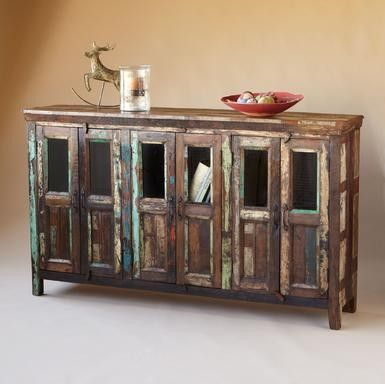 nachitoches sideboard (reclaimed wood)  #Ideas for the #Reuse of #Reclaimed #Wood #reclaimedwood #sustainable #DIYreclaimedwood #reclaimedwoodDIY #DIY #DIYproject #DIYidea