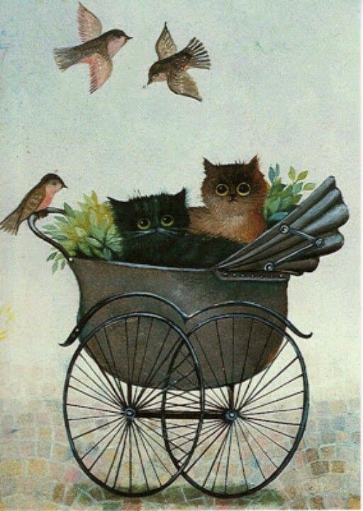 Kitty Art - Artist Renate Koblinger