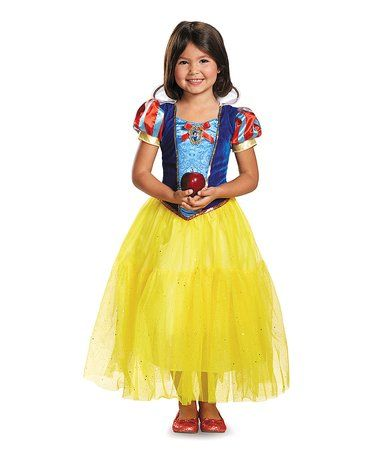 Look what I found on #zulily! Disney Princess Snow White Deluxe - princess halloween costume ideas