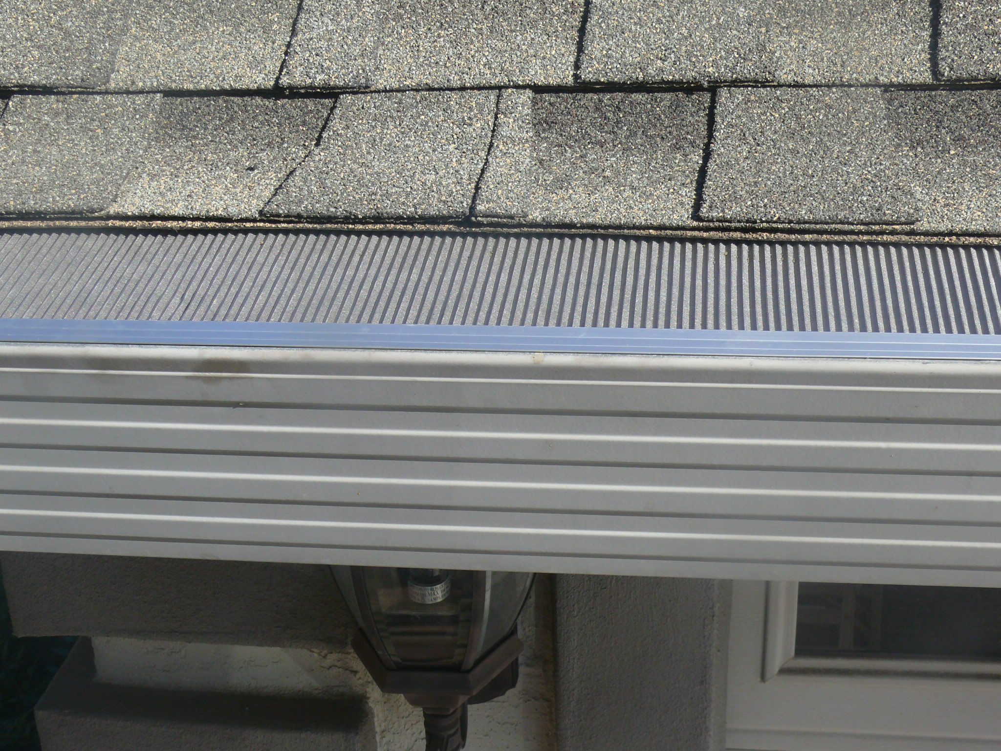 The Leafblaster Gutter Protection System Consists Of Three Main Components A Front Anodized Aluminum Drip Ed Backyard Makeover Roof Shingles Gutter Protection