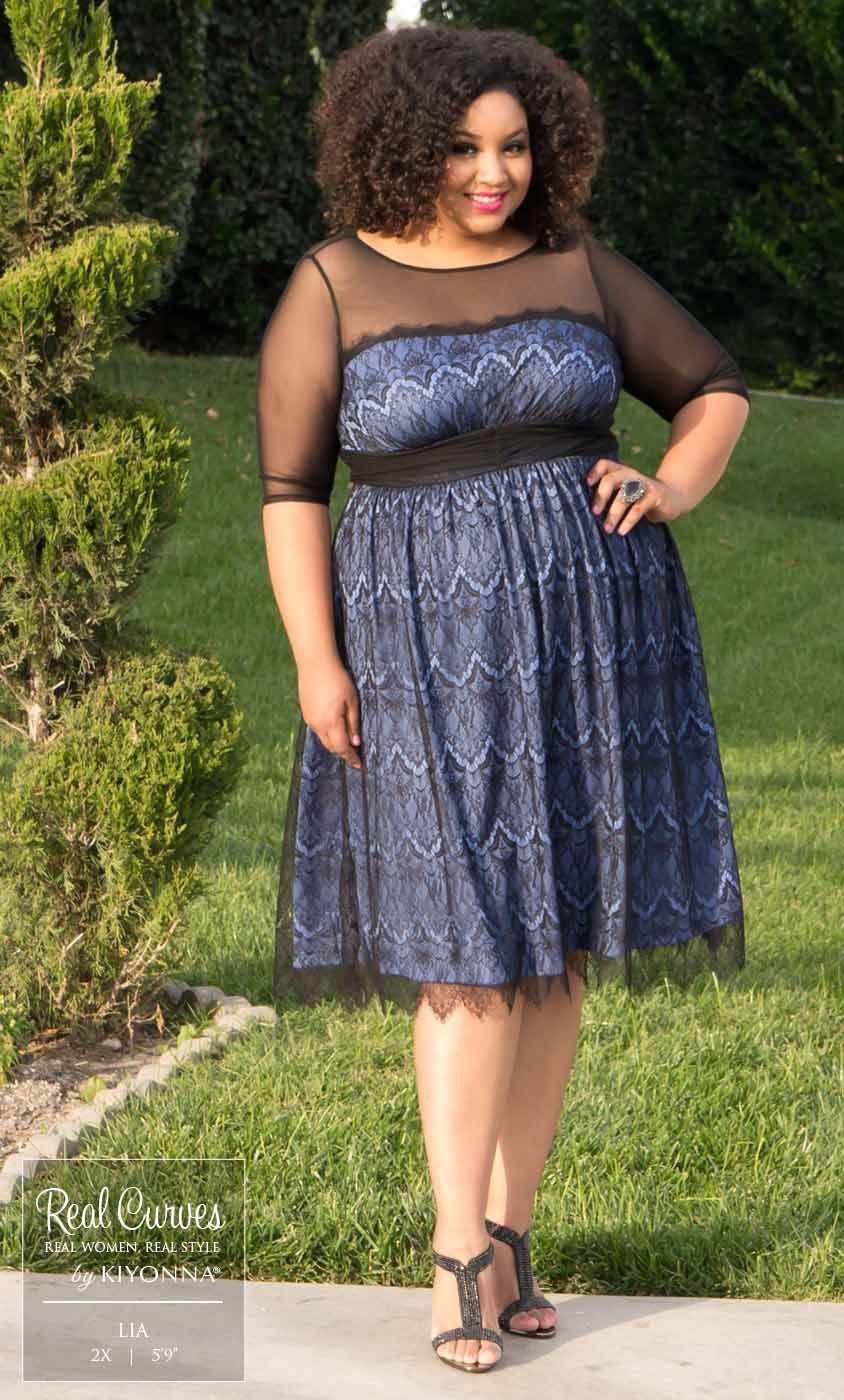 """Real Curve Cutie Lia (5\'9"""" and a size 2x) looks amazing in ..."""