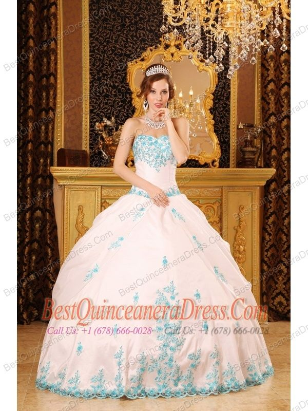 White Gold Quinceanera Dresses - http://www.inspirationsofcardiff ...