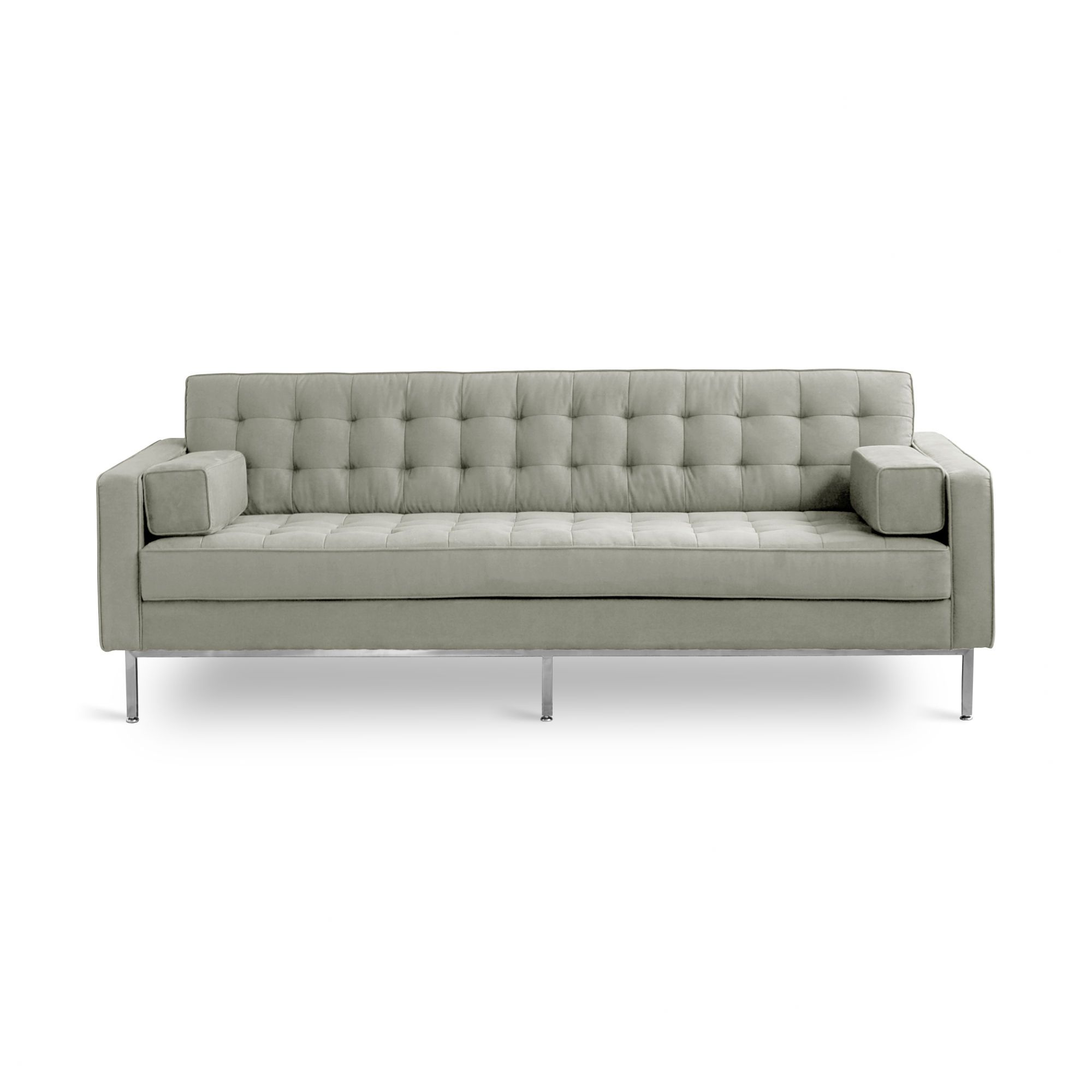 single cushion sofa pros and cons karlstad grey cover spencer seat cushions modern living rooms