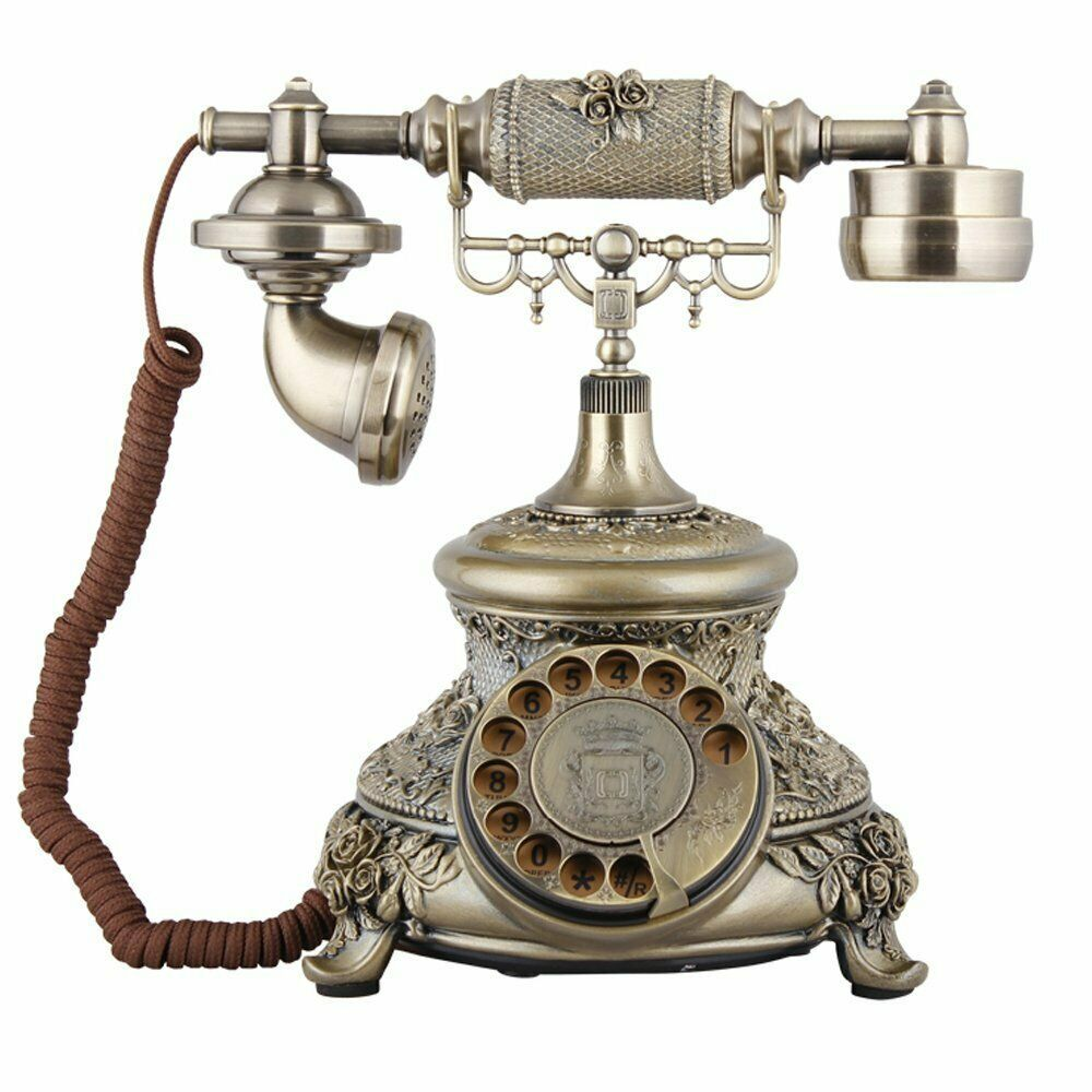 Antique Retro Telephone Decorative Phone