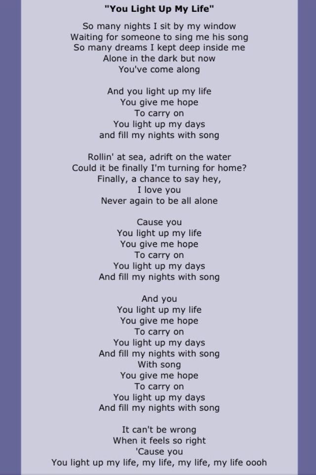 Finally doing me and it feels so right lyrics