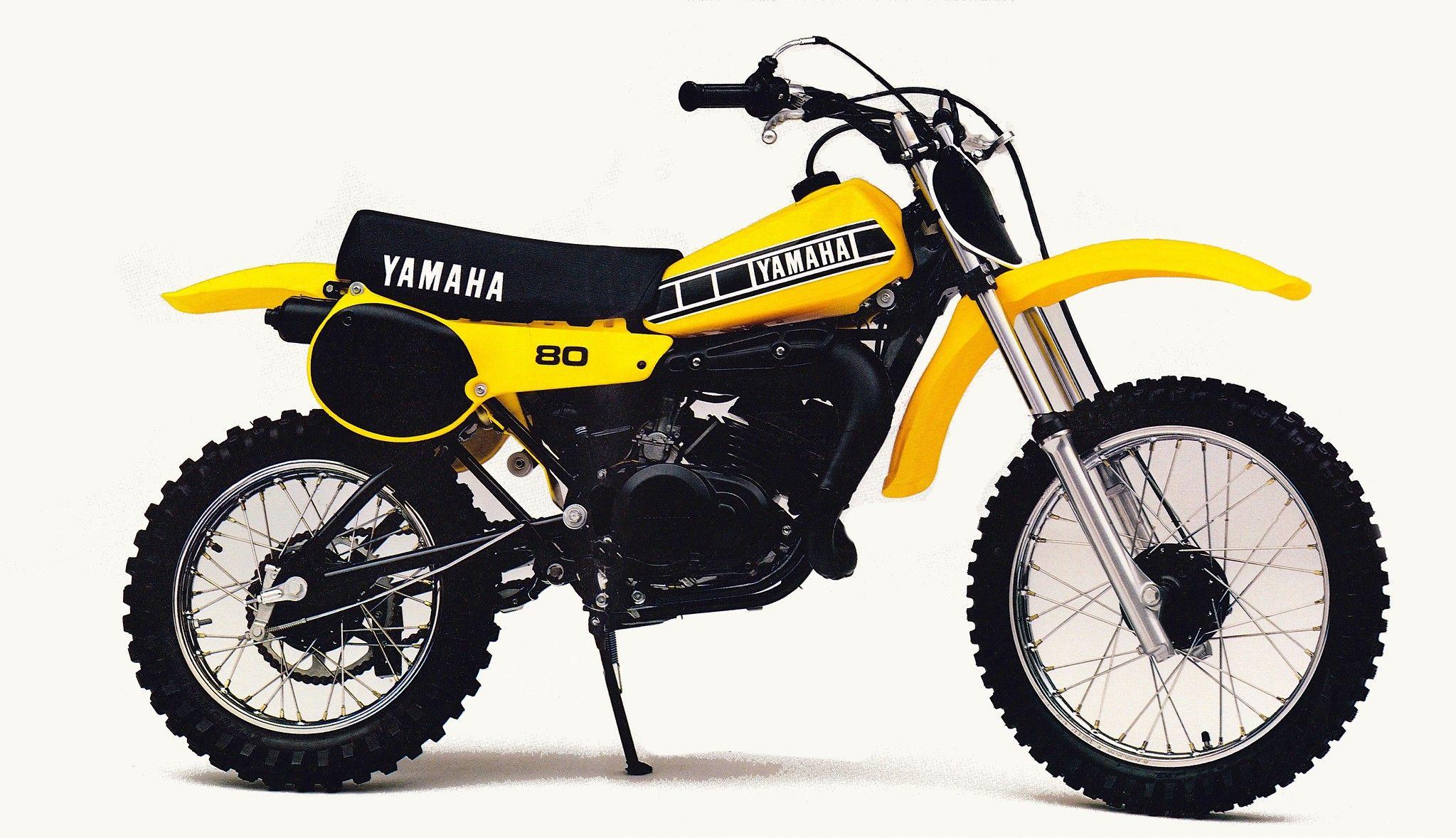 1980 Yamaha Yz80 In 2020 Yamaha Dirt Bikes For Kids Cool Dirt Bikes