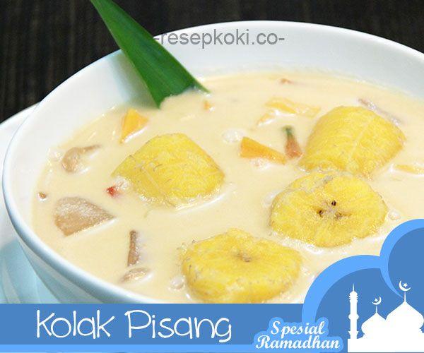 Sajian Ramadhan Resep Kolak Pisang Dan Ubi Makanan Resep Masakan Indonesia Makanan Indonesia