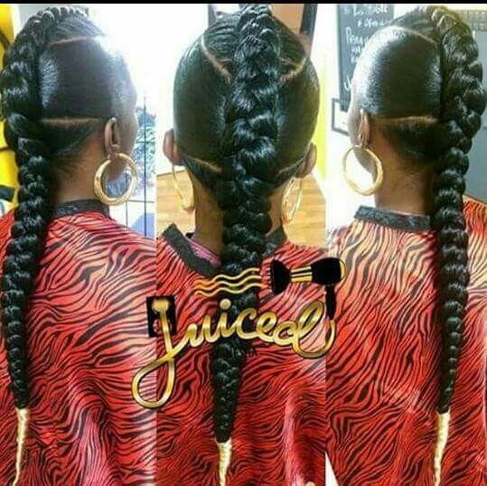 1 Braid Braided Hairstyles Hair Hair Styles