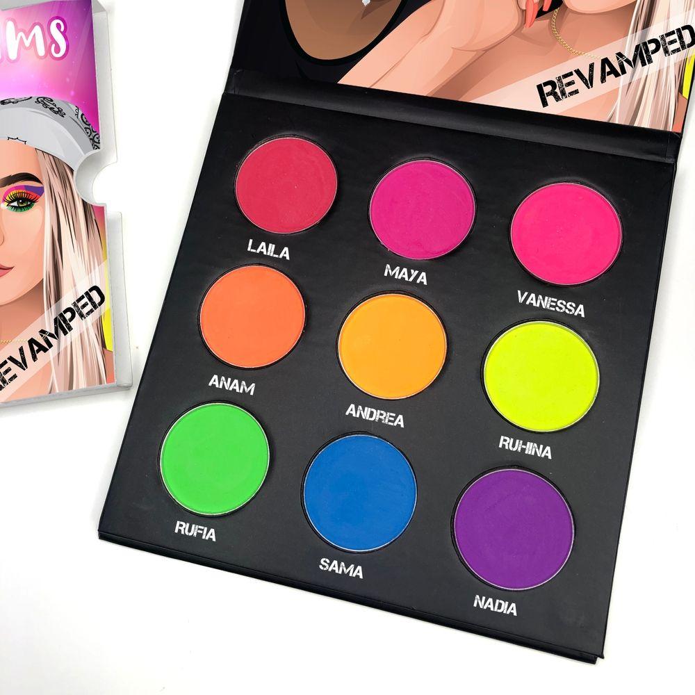Blush Tribe Neon Dreams palette