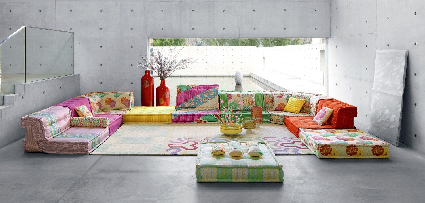 Mah Jong Sofa Roche Bobois Contemporary Bedroom Decor