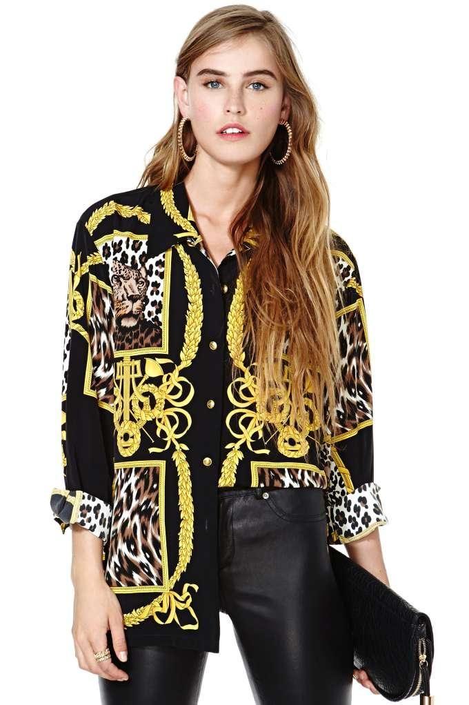 versace shirt for women