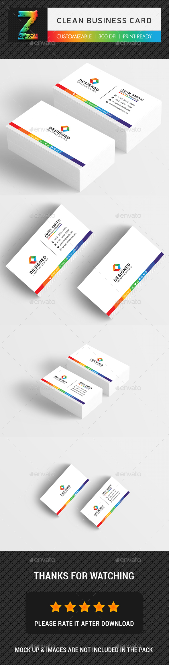 Clean Business Card Business Cards Print Templates Download Here Https Graphicriv Cleaning Business Cards Business Cards Creative Printing Business Cards