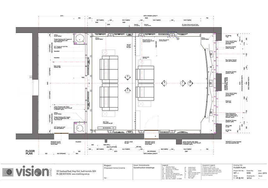 Exceptional Home Theatre Plans Part 27