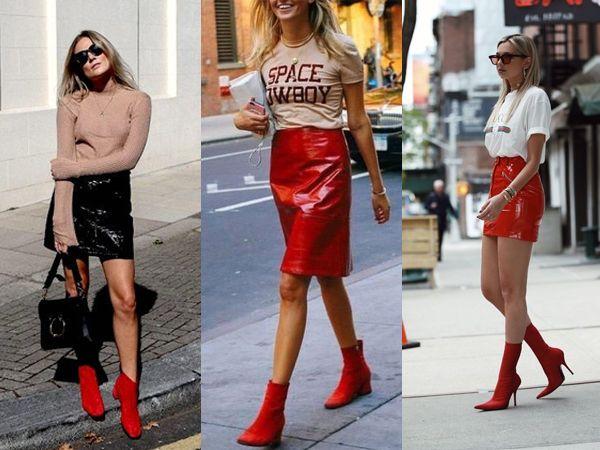 Resultado de imagem para como usar botas vermelhas
