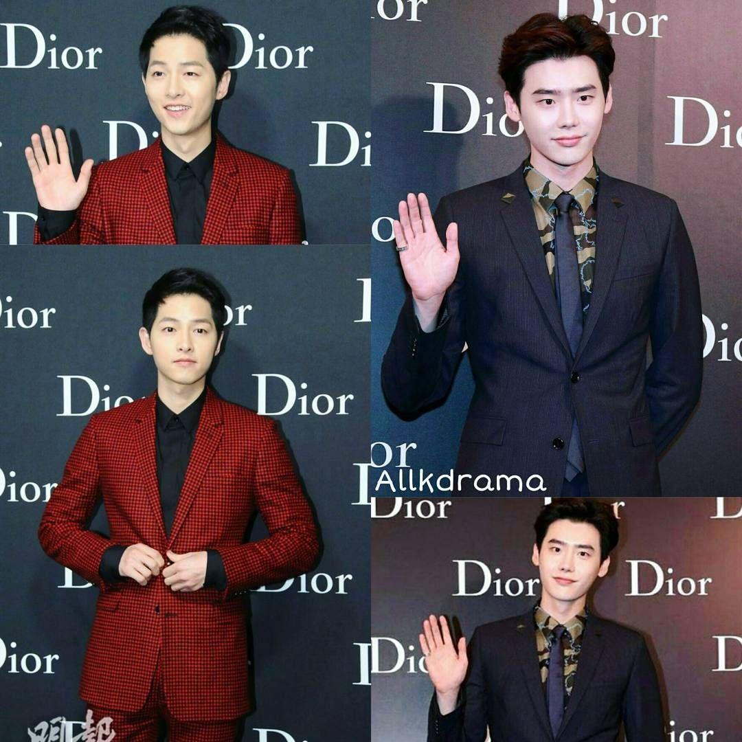 Song Joong Ki and Lee Jong Suk at