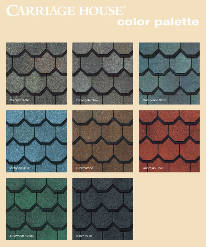 Residential Roofing Roof Shingle Colors Shingle Colors