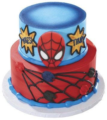 Spiderman and Spiders Edible Sugar Cake Kit por ABirthdayPlace New