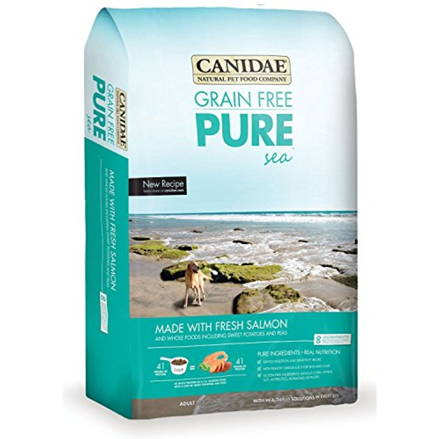 canidae puppy food salmon