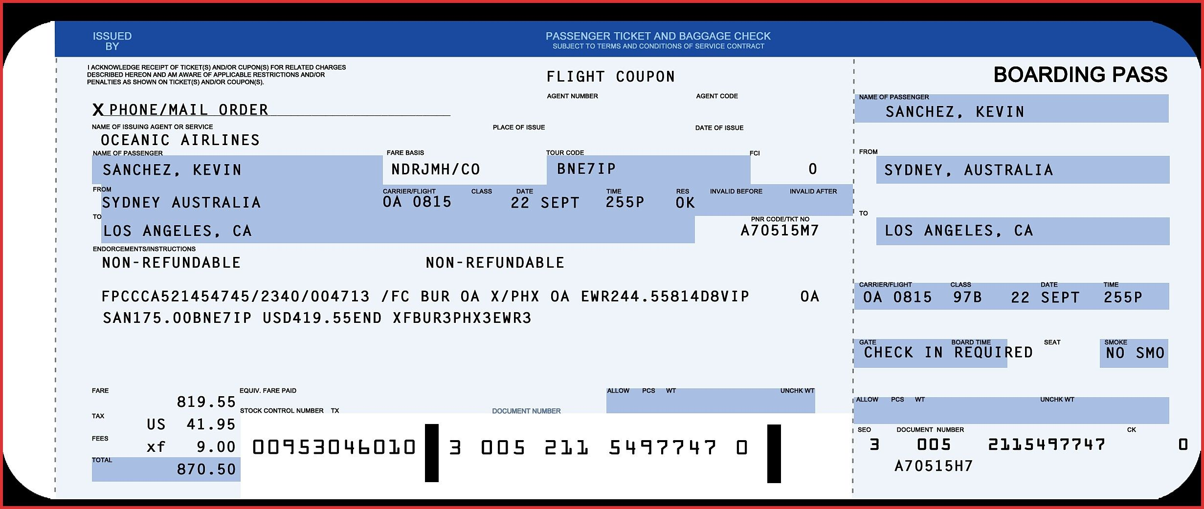 Plane Ticket Template Word Copy Awesome