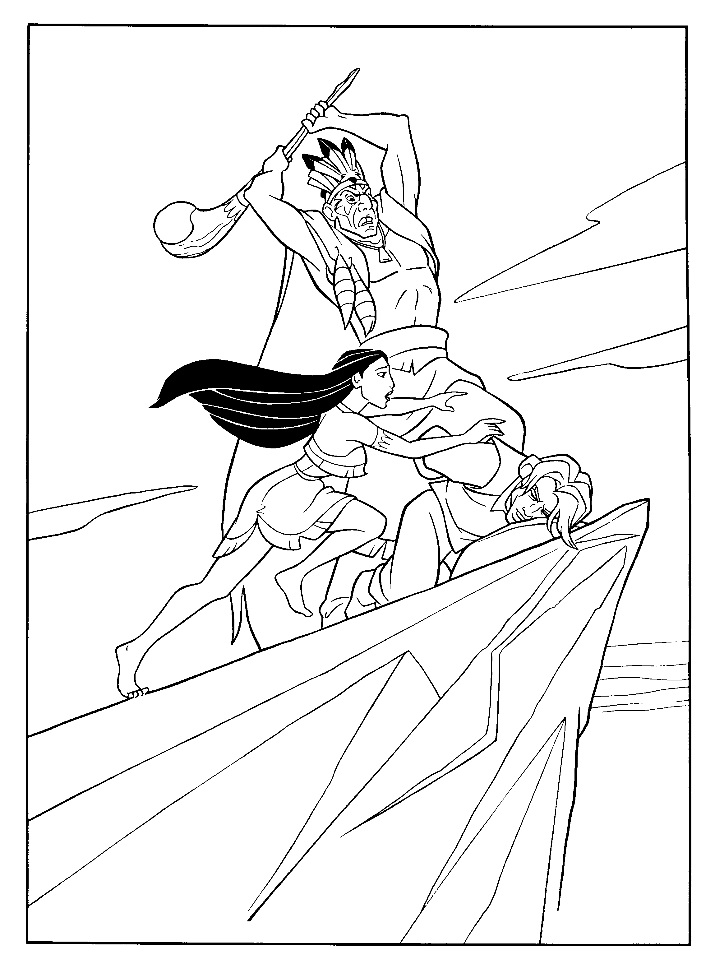 Disney coloring pages pocahontas - Pocahontas Coloring Pages Google S Gning