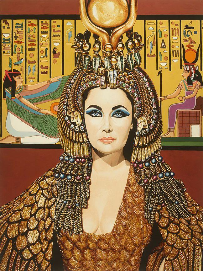 Details about Elizabeth Taylor as Cleopatra by Karl Black