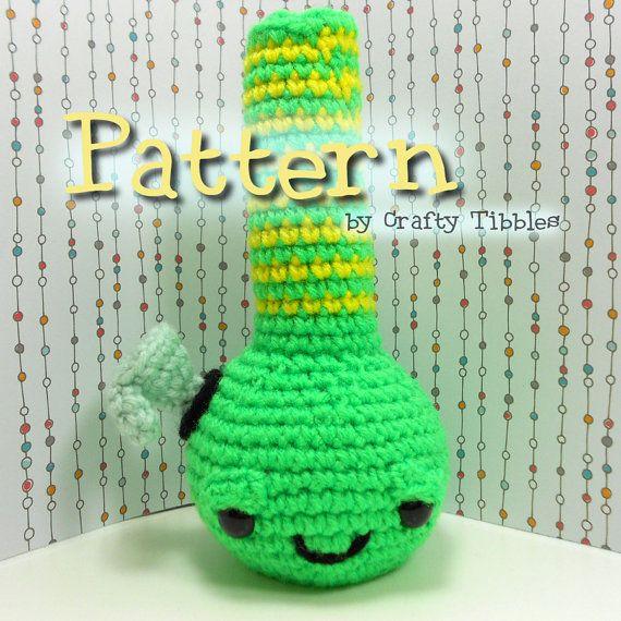 Bong Crochet Amigurumi Pattern | Weed, Cosas bonitas y Hilo