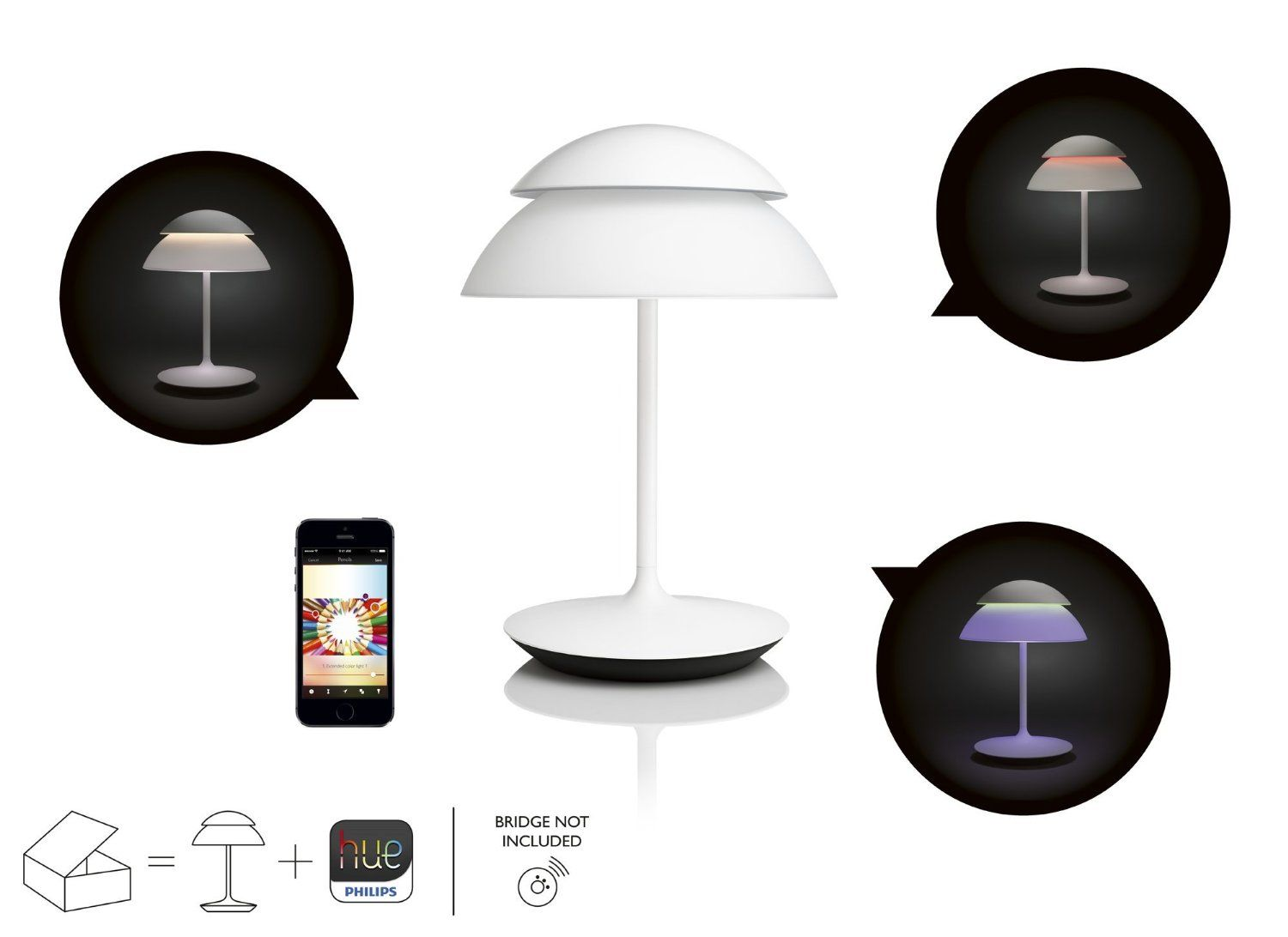 Philips Nastolna Lampa Beyond 7120231ph With Images Hue
