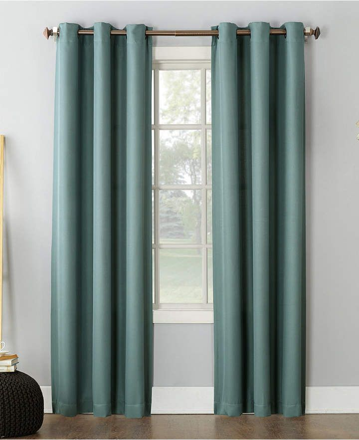 No 918 Montego 48 X 95 Grommet Top Curtain Panel Reviews Curtains Drapes Window Treatments Blinds Macy S Grommet Curtains Curtains Grommet Top Curtains